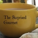 The Surprised Gourmet cup