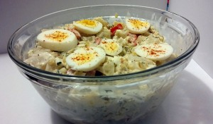 Bowl of Potato Salad - The Surprised Gourmet