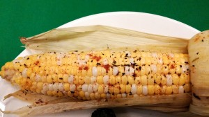 Corn on the Cob baked in the oven