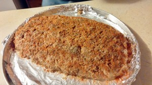 Everybody Loves Meatloaf ready for the oven