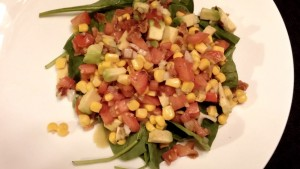 Delicious Southwestern Style Salad - The Surprised Gourmet