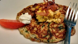 Potato Pancake for breakfast - The Surprised Gourmet