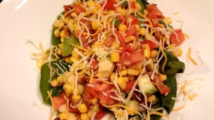 Southwestern Style Salad - The Surprised Gourmet