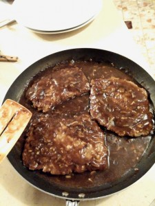 Non-traditional Salisbury Steak - thesurprisedgourmet.com