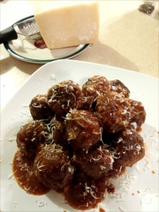 Blue Cheese Meatballs - The Surprised Gourmet