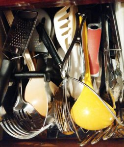 Cluttered Kitchen Drawer - The Surprised Gourmet